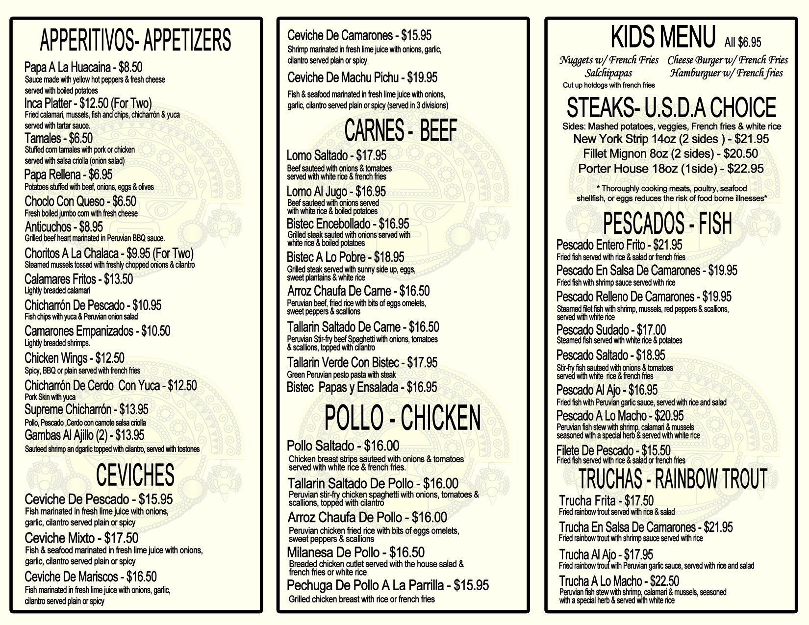MENU back BETHEL150 2016