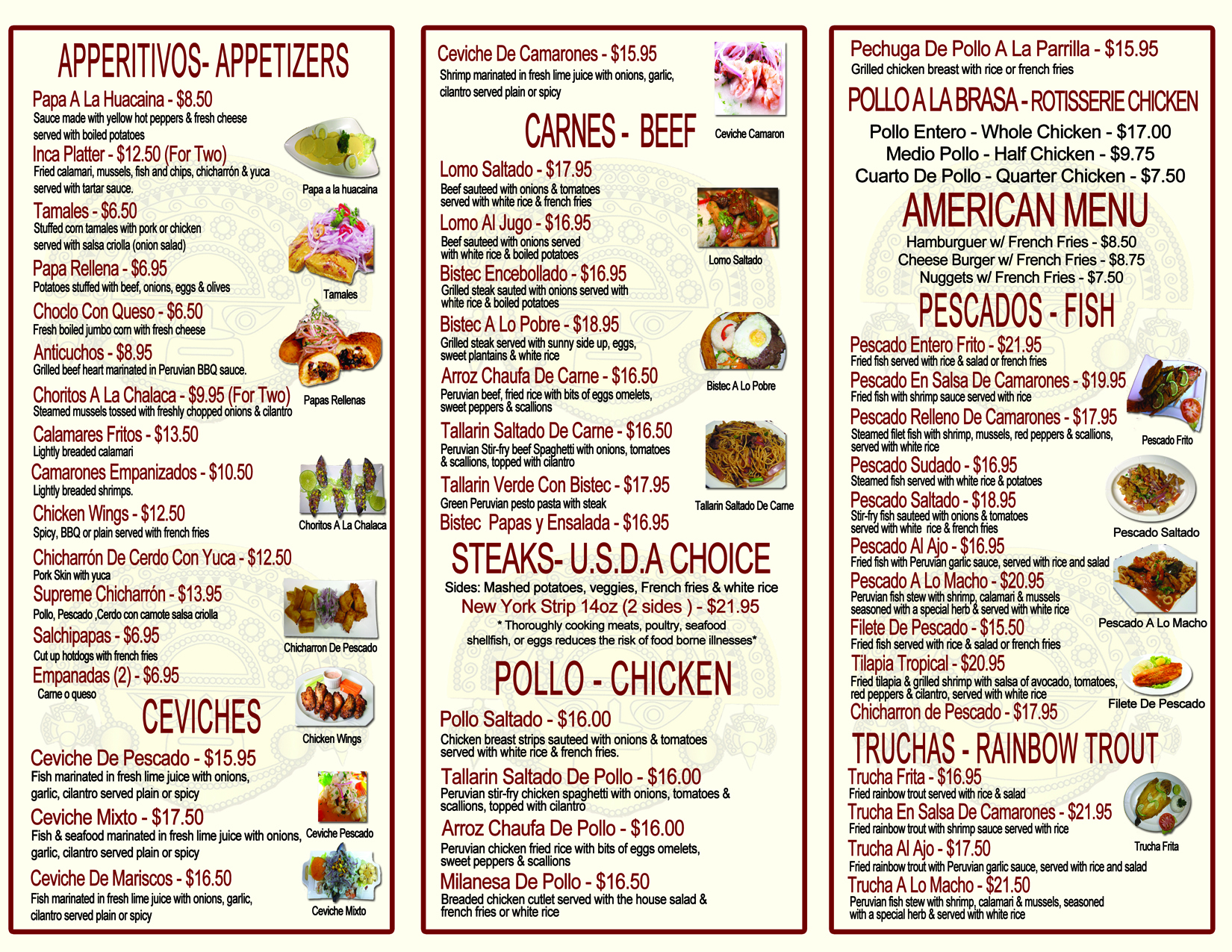 MENU back danbury150 2016